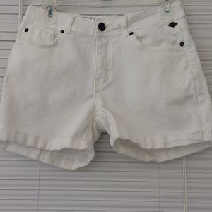Buffalo David Bitton White Jean Shorts Size 27